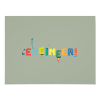 Be an Engineer with Tools Z8c69 Photographic Print