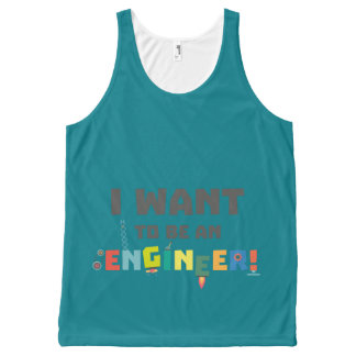 Be an Engineer Zf792 All-Over Print Tank Top