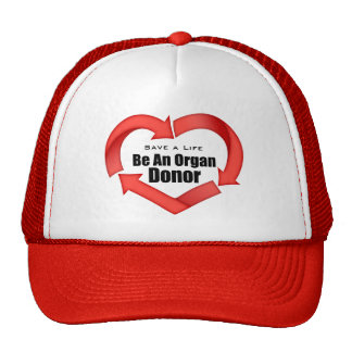 Be An Organ Donor Mesh Hat