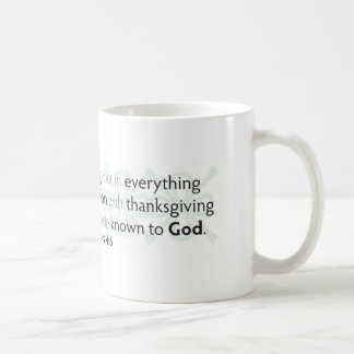 Be Anxious for Nothing Coffee Mug