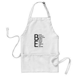 BE... APRONS