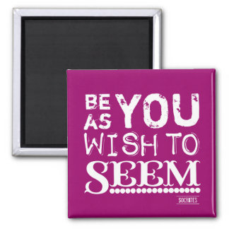 Be As You Wish To Seem Magnet