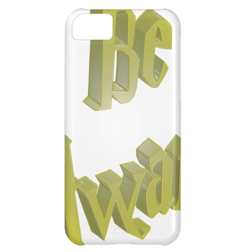 Be Aware 3DD 3D Design Case For iPhone 5C