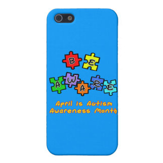 BE AWARE - April is Autism Awareness Month iPhone 5/5S Case