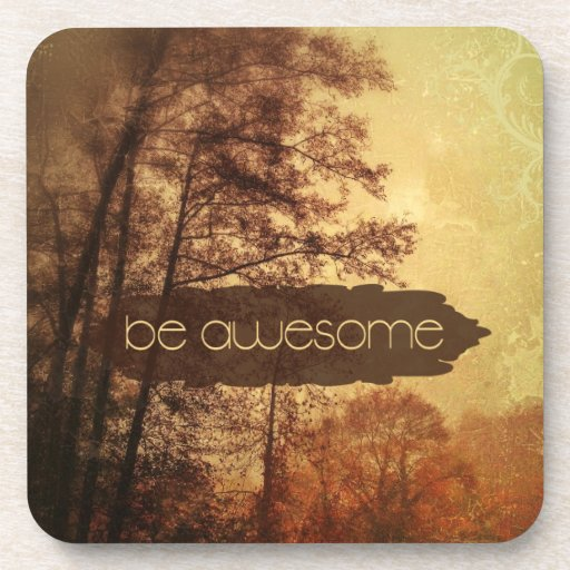 Be Awesome Coaster