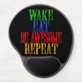 Be Awesome! Gel Mouse Pad