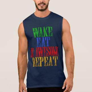 Be Awesome! Sleeveless Shirt