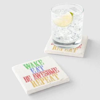 Be Awesome! Stone Coaster