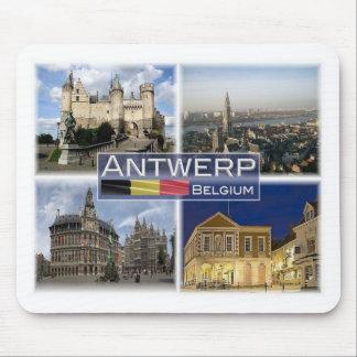 BE Belgium - Antwerp - Het Steen - Cathedral Mouse Pad