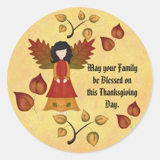 Be Blessed Round Sticker