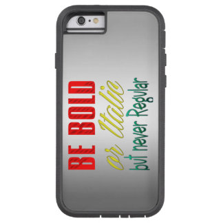 be bold or italic apple iphone6 cover design