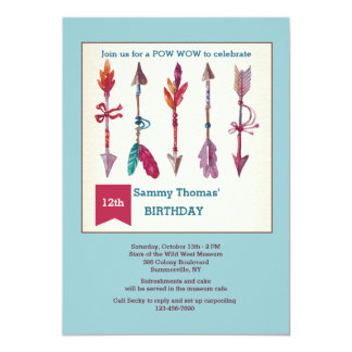 Be Brave Arrow Invitation