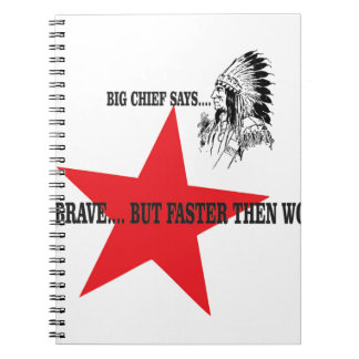 be brave but faster then wolf notebook