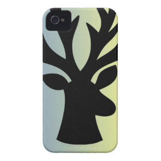 Be brave deer head shadow iPhone 4 covers
