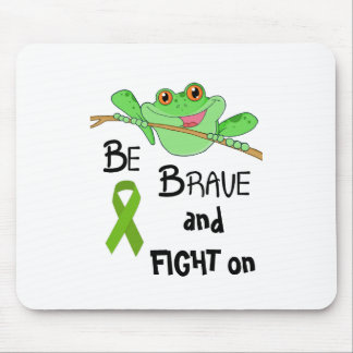Be Brave Fight on Frog Mouse Pad