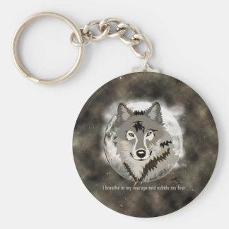 Be brave key ring