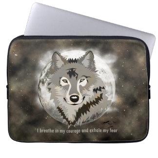 Be brave laptop sleeves
