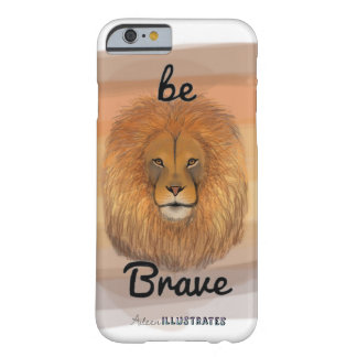 be brave lion iphone 6/6s case