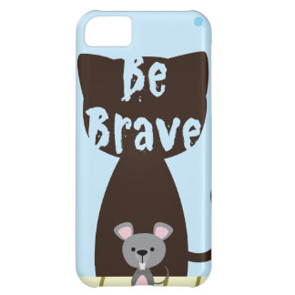Be Brave Little Mouse iPhone 5C Case