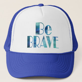 BE BRAVE -OCEAN SUMMER CRUSH TRUCKER HAT