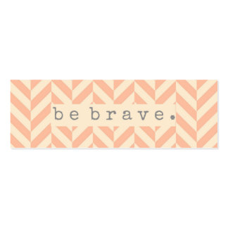 Be Brave Random Acts of Kindness Card Pack Of Skinny Business Cards