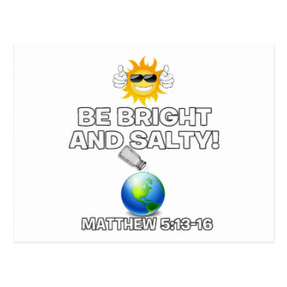 Be Bright & Salty Postcard