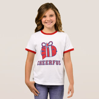 BE CHEERFUL :) RINGER T-Shirt