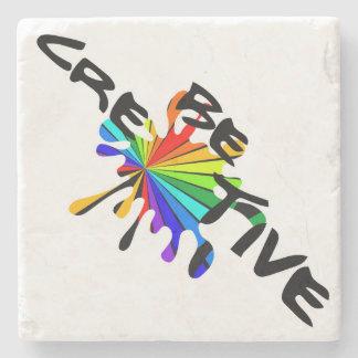 Be Creative Stone Beverage Coaster