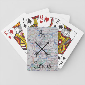 """Be Curious"" Playing Cards"