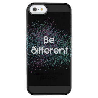 Be Different Clear iPhone SE/5/5s Case