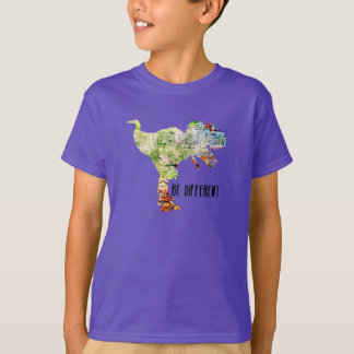 Be Different Dinosaur Kids Tee