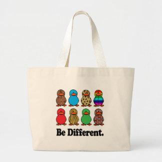 Be Different Ducks Jumbo Tote Bag