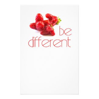Be different flyer