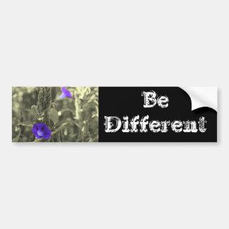 Be Different Inspirational Bumper Sticker Car Bumper Sticker