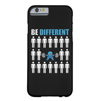 Be Different - Kawaii Anime Bodybuilding Workout Barely There iPhone 6 Case