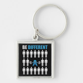 Be Different - Kawaii Anime Bodybuilding Workout Key Ring
