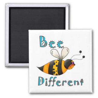 Be Different Spotted Bumble Bee Fridge Magnets