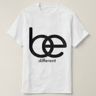 BE different Value T-Shirt Template