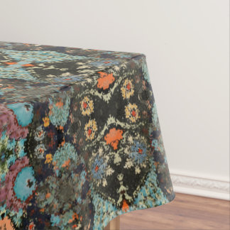 """Be Distorted"" Abstract Design Tablecloth"
