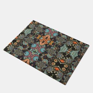 """Be Distorted"" abstract modern floor mat"