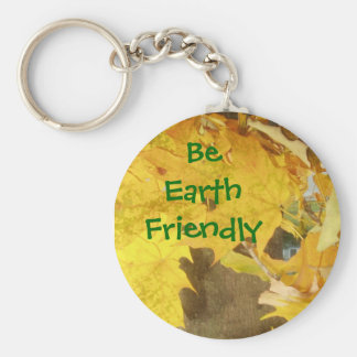 Be Earth Friendly Key Ring