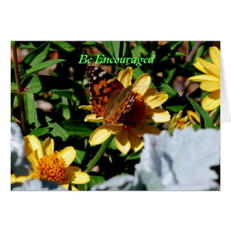 Be encouraged greeting card