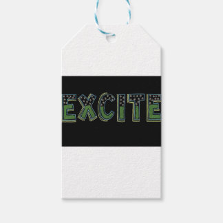 Be excite gift tags