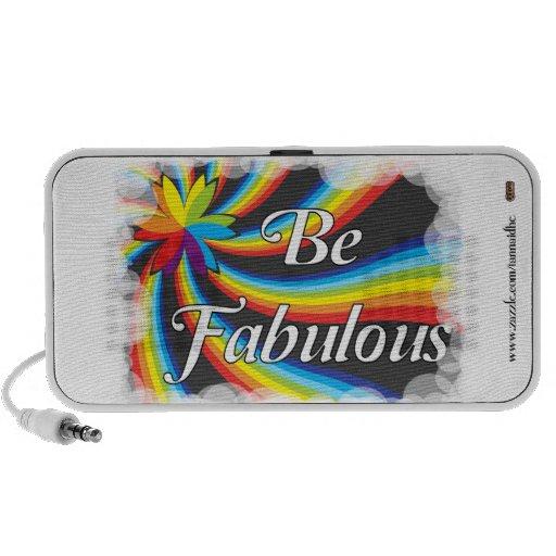 Be Fabulous! Mp3 Speakers