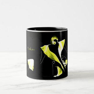 *Be Fashion & Chic * Two-Tone Coffee Mug