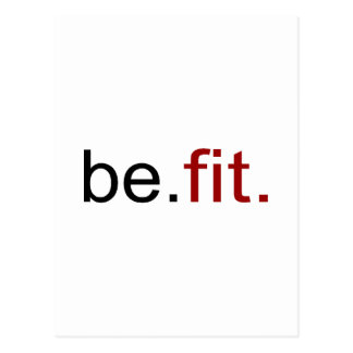 be fit post cards