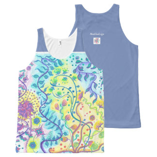 Be flexible Express your freedom All-Over Print Singlet
