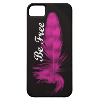 Be Free Feather iphone case iPhone 5 Cases