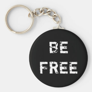 BE FREE - Pendant Key Ring