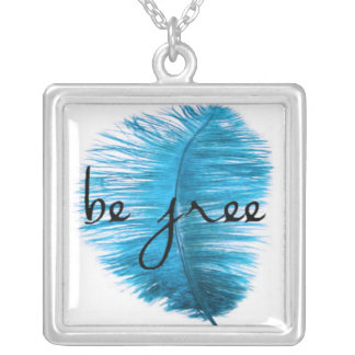 Be Free Silver Plated Necklace